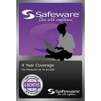 Safeware 4 Yr. Coverage For Products Up To $1000