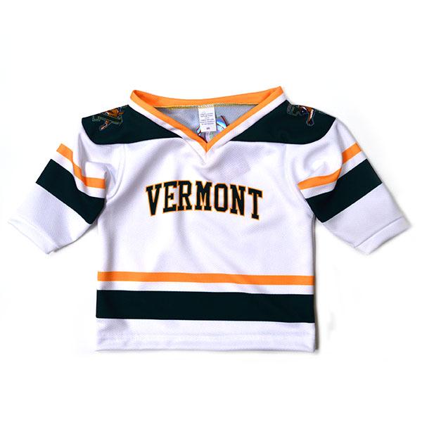 Replica White Toddler Hockey Jersey   The UVM Bookstore