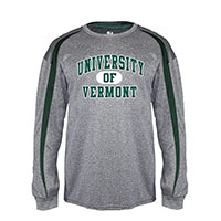 Badger Spellout Pro-Heather Long Sleeve Tee