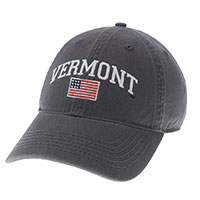 Legacy Vermont American Flag Hat