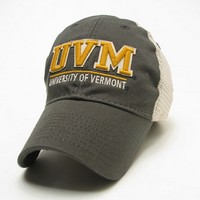 Legacy UVM Spellout Relaxed Twill Trucker