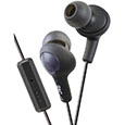 Gumy Plus inner ear headphones with comfrotable fit, sound isloation and remote plus mic.