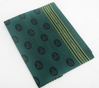 Silk Scarf - Repeating Seal & Spellout