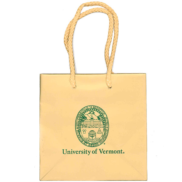 Gift Bag - Matte Small University Seal