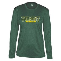 Badger Ladies Vermont Pro-Heather Long Sleeve Tee