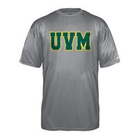 Badger Youth Uvm Pro-Heather Performance Tee