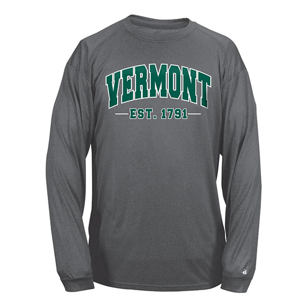 Badger Arched Vermont Back V/Cat Long Sleeve Tee (SKU 124438641067)