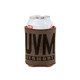 FAUX LEATHER CAN COOLER