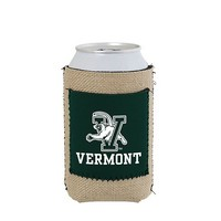 Burlap V/Cat Can Cooler