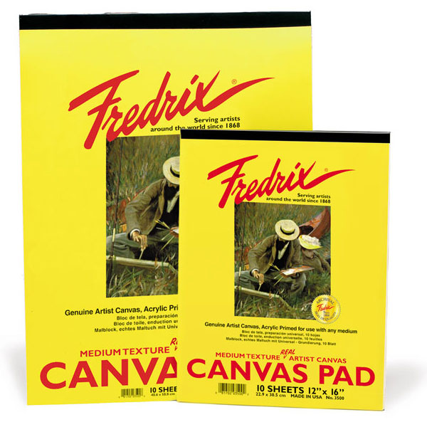 Fredrix Canvas Pad (SKU 124526131255)