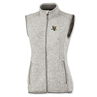 Charles River V/Cat Heathered Sweater Fleece Vest