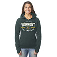 CAMPUS CREW LADIES SPELLOUT NOTCHED HOODIE