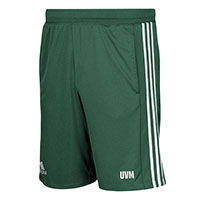 Adidas Uvm Three Stripe Knit Shorts