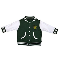Creative Knitwear V/Cat Varsity Jacket