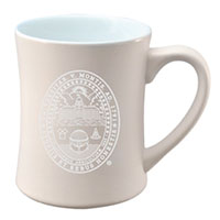 Etched University Seal Mug