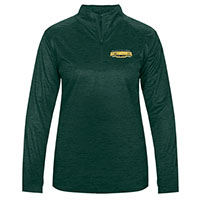 Badger Ladies Catamounts Tonal Blend 1/4 Zip