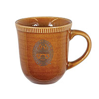 Glazed University Seal Mug