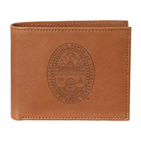 Leather Billfold Seal Wallet