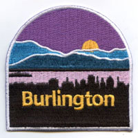 Burlington Sign Post Patch