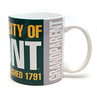 University Of Vermont Grandparent Mug