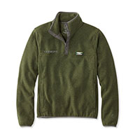 L.L.Bean Men's Vermont Sweater Fleece Pullover