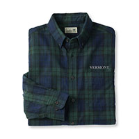 L.L.Bean Men's Vermont Scotch Plaid Flannel Shirt