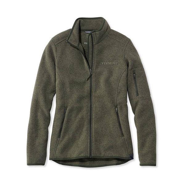 L.l.bean Women s Vermont Sweater Fleece Full Zip Jacket  b0e14a2ef