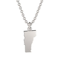 Vermont State Charm Necklace