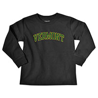 College Kids Arched Vermont Long Sleeve T-Shirt