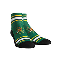 Rock 'Em V/Cat Classic Stripe Quarter Socks