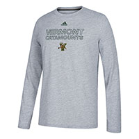 Adidas Vermont Catamounts Long Sleeve Ultimate Tee