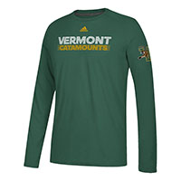 Adidas Vermont Catamounts V/Cat Long Sleeve Ultimate Tee
