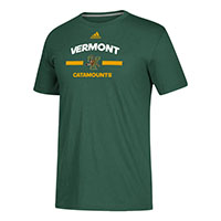 Adidas Vermont Catamounts Go-To Performance Tee