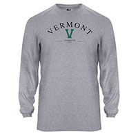 Badger Vermont Big V Long Sleeve Bi-Blend T-Shirt