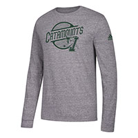 Adidas Catamounts V/Cat Long Sleeve Tri-Blend T-Shirt