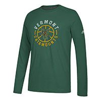 Adidas Vermont Catamounts Center Court Ultimate Long Sleeve T-Shirt