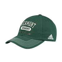 Adidas Vermont Catamounts Crossed Sticks Slouch