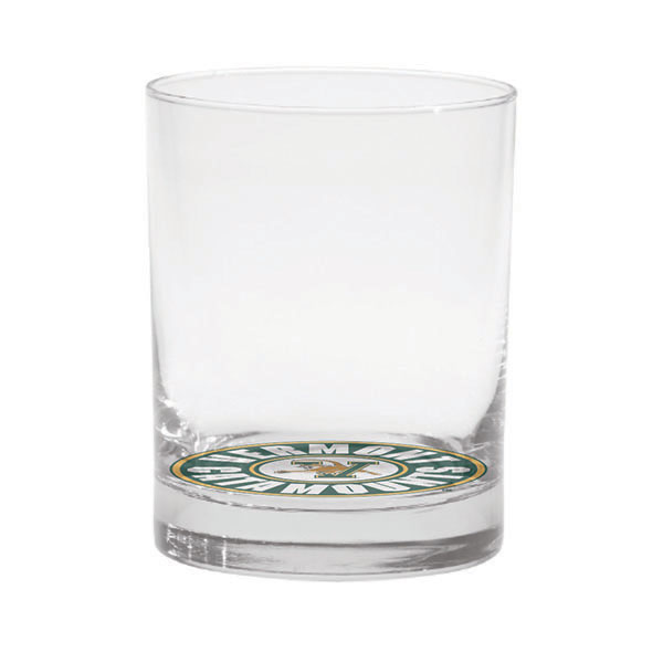 Old Fashioned Glass With V/Cat Circle Logo (SKU 125468241135)