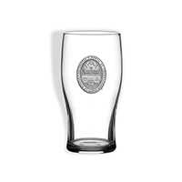 Pewter Seal Pub Glass