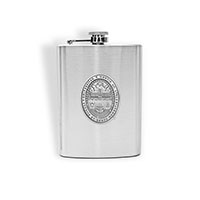 Pewter Seal Pocket Canteen