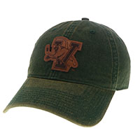 Legacy Leather Hockey V/Cat Patch Hat