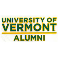 University Of Vermont Alumni Color Shock Decal