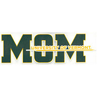 Mom University Of Vermont Color Shock Decal