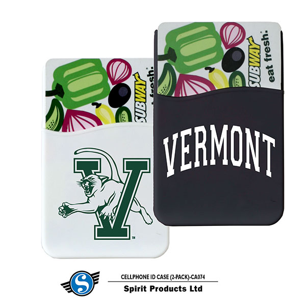 V/Cat Vermont Cellphone ID Sleeve 2-Pack (SKU 125673551242)