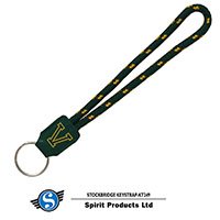 Corded Big V Key Strap