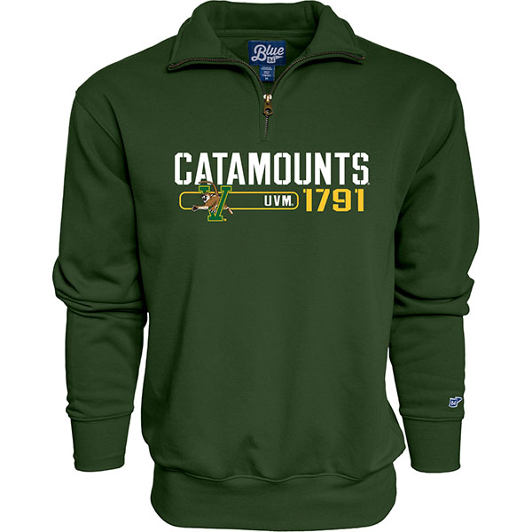 Blue 84 Catamounts V/Cat 1/4 Zip (SKU 125759781059)