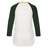 '47 BRAND WOMEN'S SPLITTER VERMONT CATAMOUNTS RAGLAN T-SHIRT