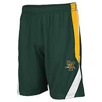 Colosseum V/Cat Green & Gold Performance Shorts