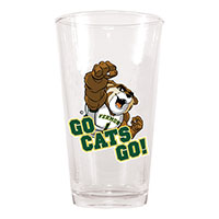 Ree Go Cats Go Rally Pint Glass