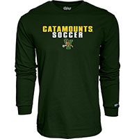 Blue 84 Catamounts Soccer Long Sleeve T-Shirt